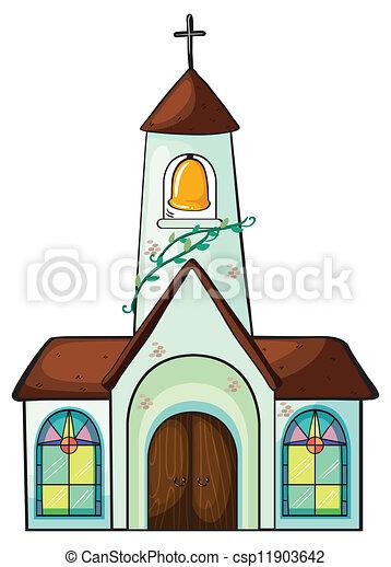 a church - csp11903642
