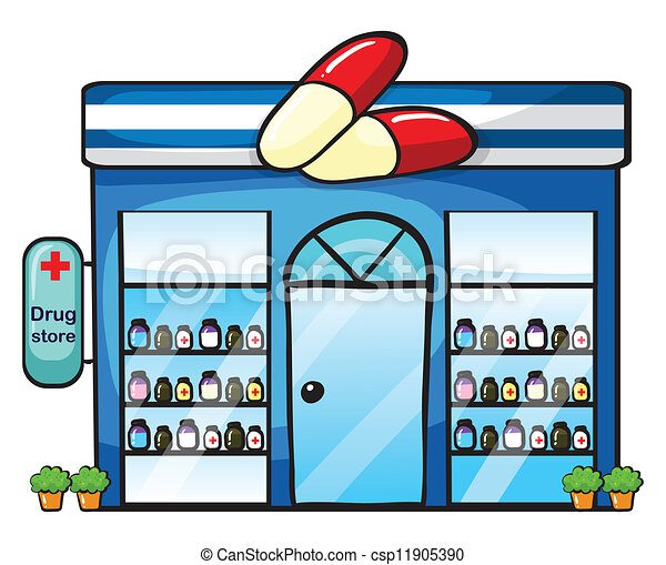 Chemists shop Clipart and Stock Illustrations. 382 Chemists shop ...