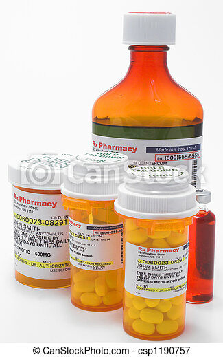 Prescription Medication - csp1190757