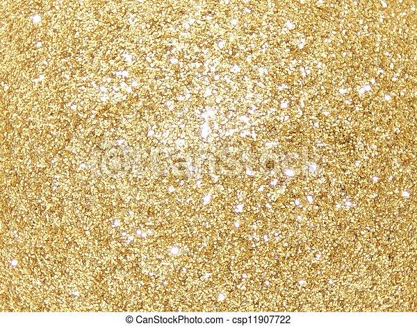 glitter, gul - csp11907722