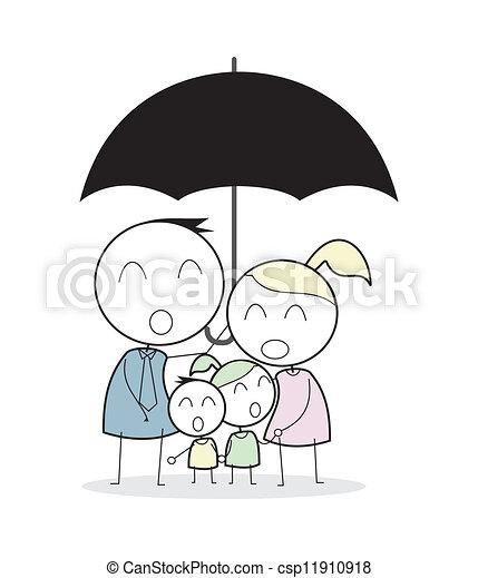 family insurance - csp11910918