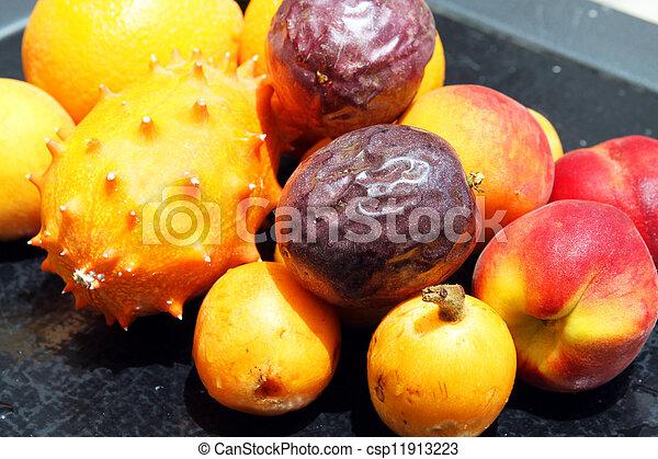 loquat fruit passion fruit
