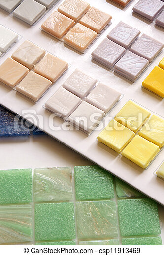 Stock de imagenes de azulejo vidrio colecci n el for Muestras de azulejos