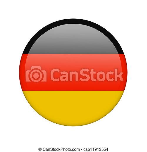 The German flag - csp11913554