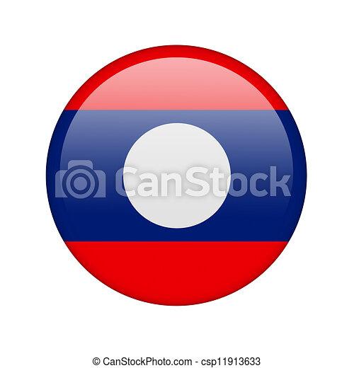 The Laotian flag - csp11913633