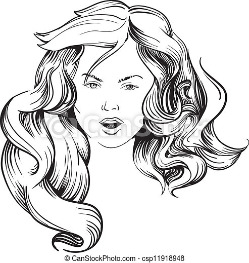 Bible Coloring Pages Love as well Floral Tattoo besides Ni C3 B1a Largo Pelo 11918948 furthermore Tag Dessin Manga Facile also Quarter Horse Coloring Page Super Coloring. on curly hairstyles html