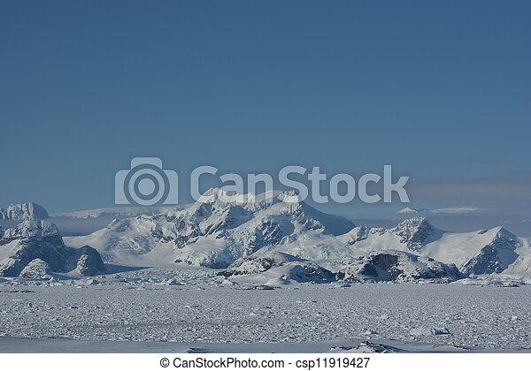 Mountains of Antarctica - 6. - csp11919427