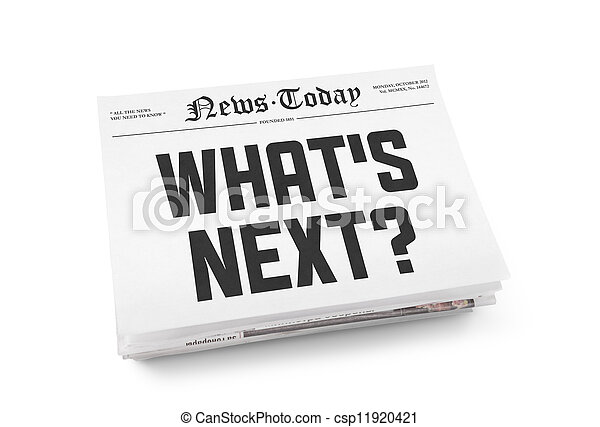 What's next headline - csp11920421