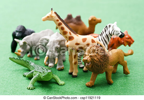 Many kinds of animal toys - csp11921119