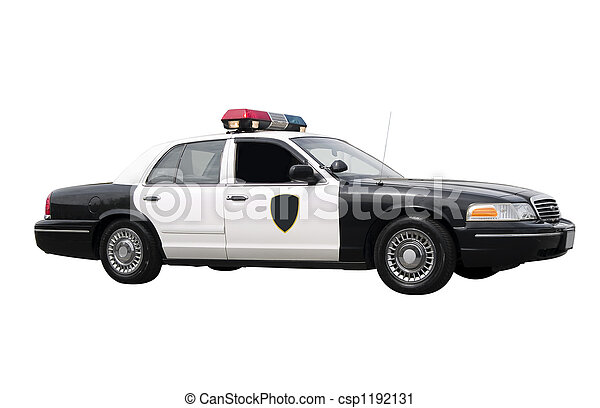 Police Car  - csp1192131