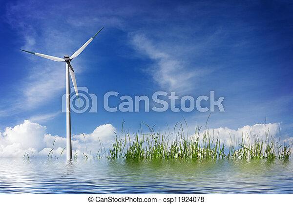 riegue ambiente - csp11924078