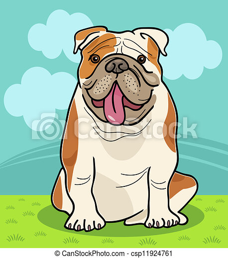 Cute English Bulldog Drawing Images & Pictures - Becuo