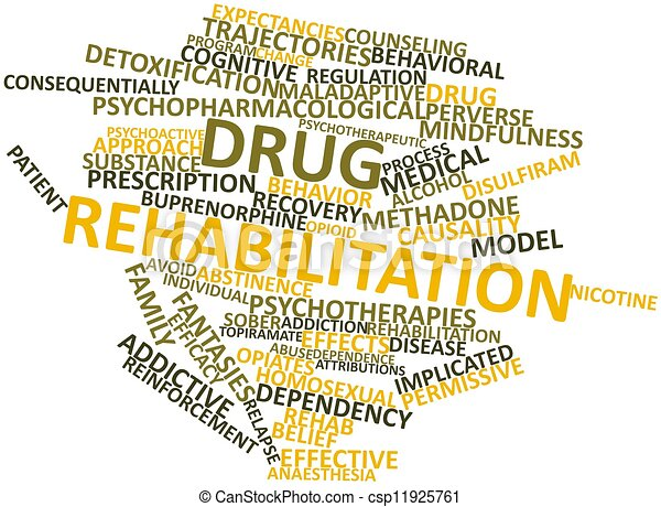 Drug rehabilitation - csp11925761