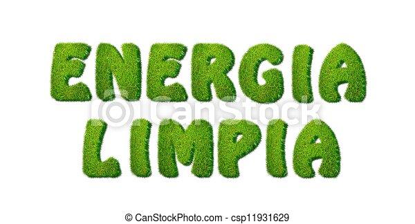 Clean Energy. - csp11931629