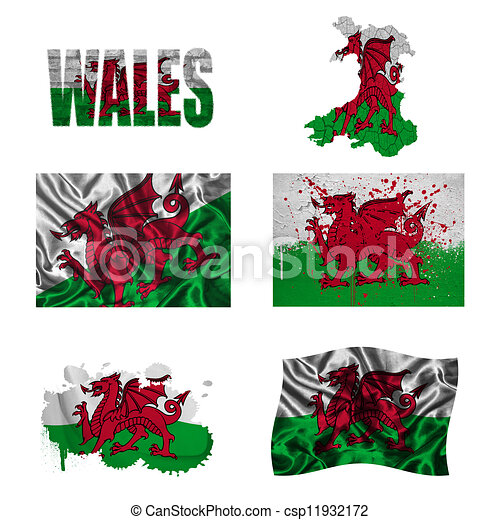 Welsh flag Illustrations and Clipart. 591 Welsh flag royalty free ...