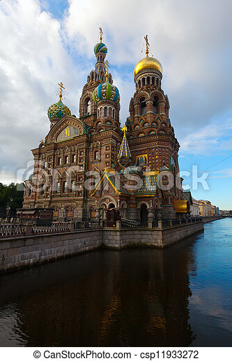 Church of the Savior on Spilled Blood   - csp11933272