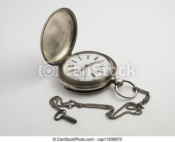 Antique Clock 1 - csp11936870