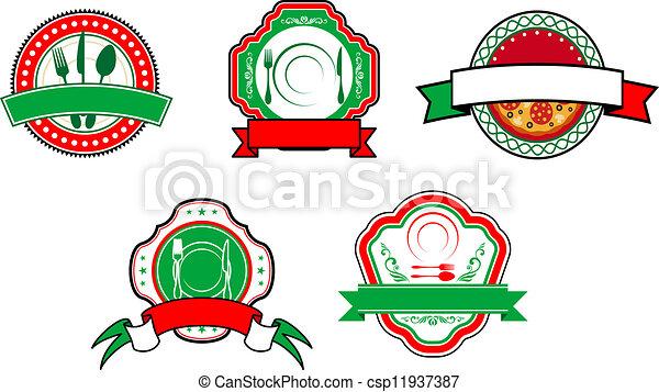 Italian food Illustrations and Clipart. 18,445 Italian food ...