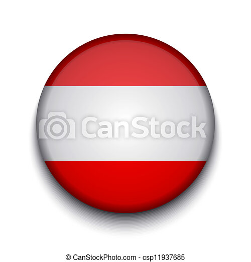 Vector creative circle flag on white background. Eps10 - csp11937685