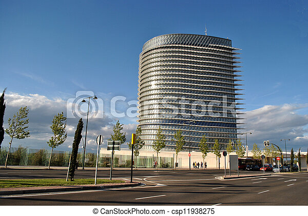 The Water Tower in Zaragoza. - csp11938275