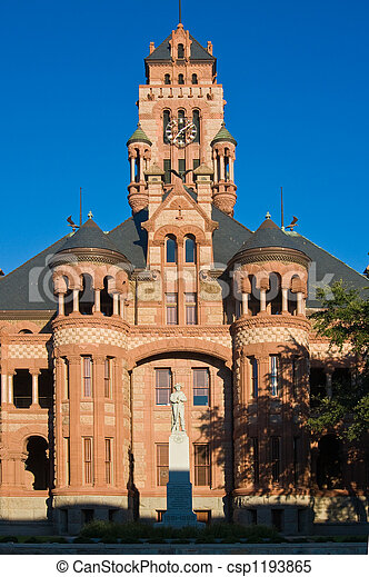 Courthouse In Waxahachie, Texas - csp1193865