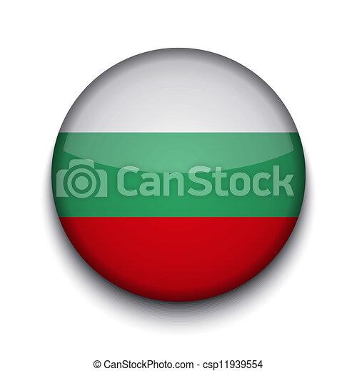 Vector creative circle flag on white background. Eps10 - csp11939554
