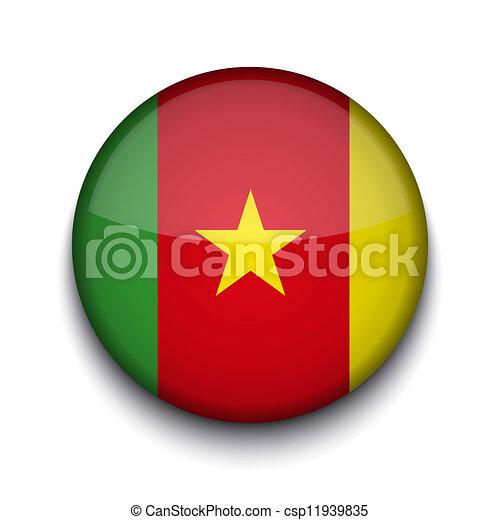 Vector creative circle flag on white background. Eps10 - csp11939835