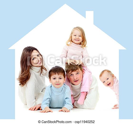 Archivi immagini di concetto casa proprio famiglia for Aprire i piani casa artigiano concetto