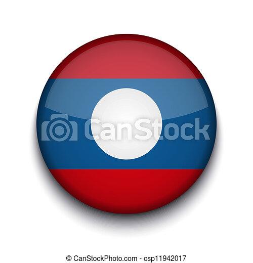 Vector creative circle flag on white background. Eps10 - csp11942017