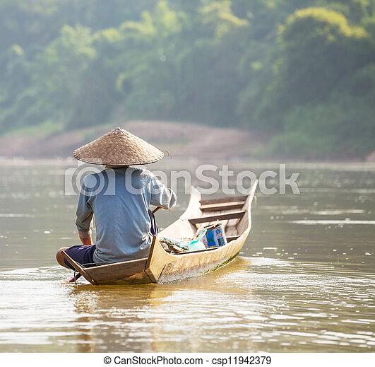 Lao people - csp11942379