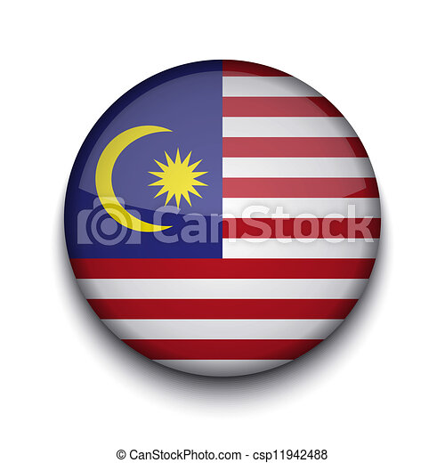 Vector creative circle flag on white background. Eps10 - csp11942488