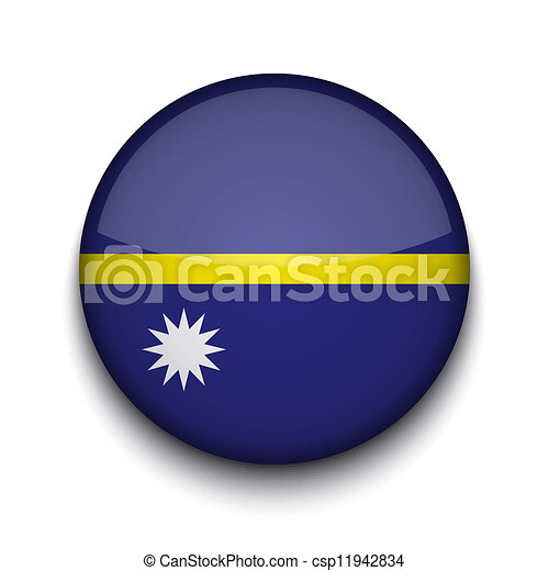 Vector creative circle flag on white background. Eps10 - csp11942834