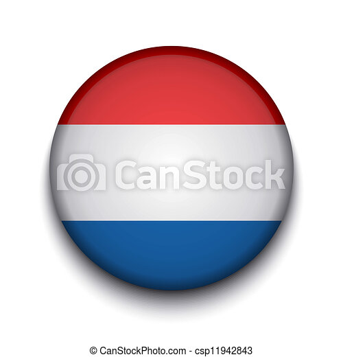 Vector creative circle flag on white background. Eps10 - csp11942843