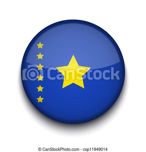 Vector creative circle flag on white background. Eps10 - csp11949014
