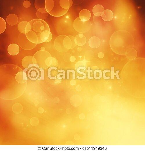Bokeh winter Christmas holiday background - csp11949346