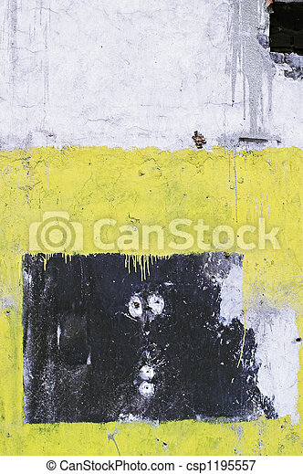 Corroded Wall - A corrode - csp1195557