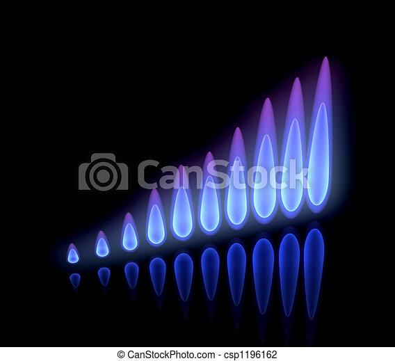 Rising gas prices - csp1196162