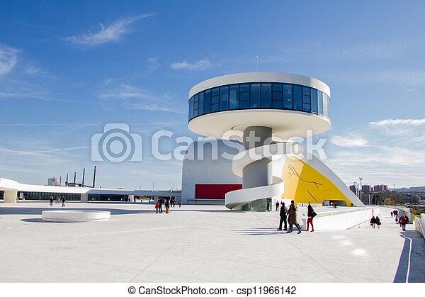 AVILES, SPAIN - DECEMBER 09 - csp11966142