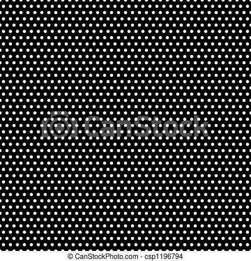 Black and White Polka Dots Pattern - csp1196794