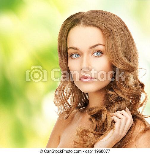 beautiful woman - csp11968077
