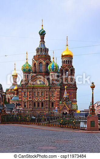 Church of the Savior on Spilled Blood  - csp11973484