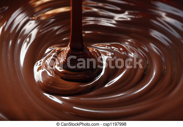 chocolate flow - csp1197998