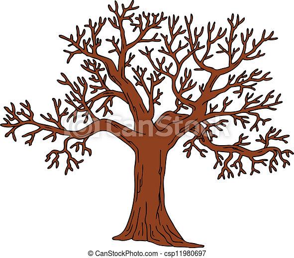 vecteurs eps de feuilles sans arbre arbre sans feuilles vecteur csp11980697. Black Bedroom Furniture Sets. Home Design Ideas