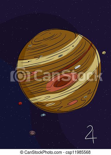 Луна юпитер в ручке карзины