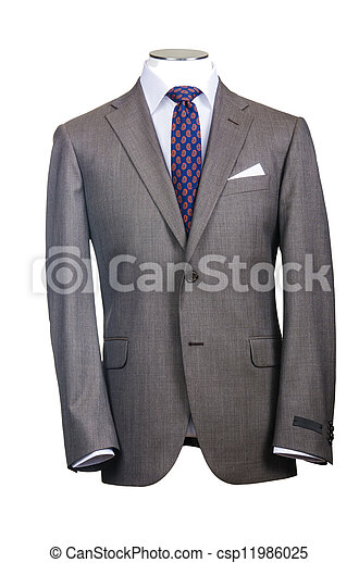 Formal suit in fashion concept - csp11986025