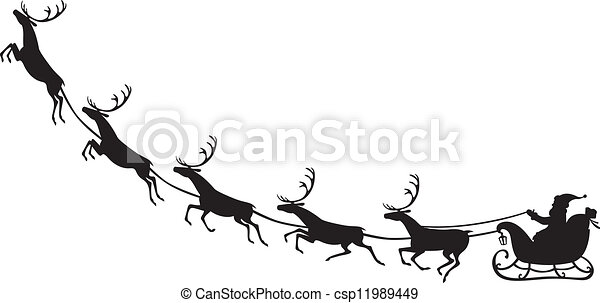 Clipart Plain Party Hat likewise Doves2 as well Animals furthermore Search Vectors likewise Outlined Santa Sleigh 8117781. on christmas reindeer clip art