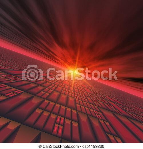 Abstract Technology Horizon - csp1199280