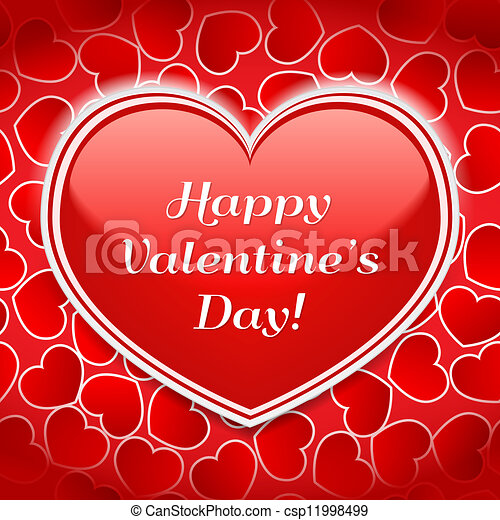 Happy Valentine's Day! - csp11998499