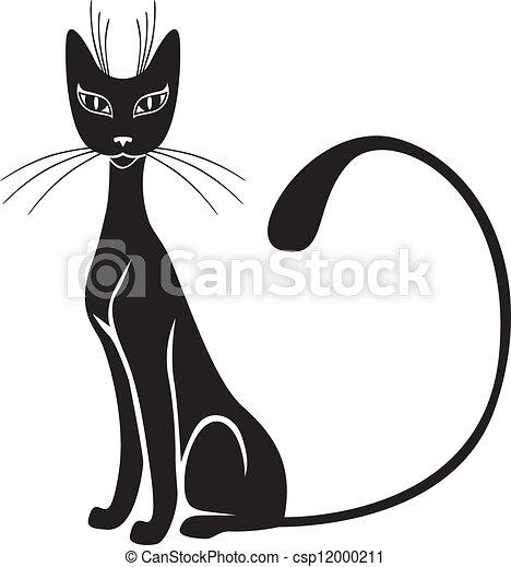 Black cat  - csp12000211