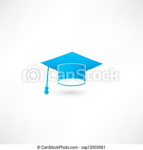 Graduation cap - csp12003561